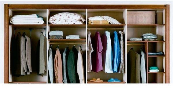como limpiar y ordenar el armario